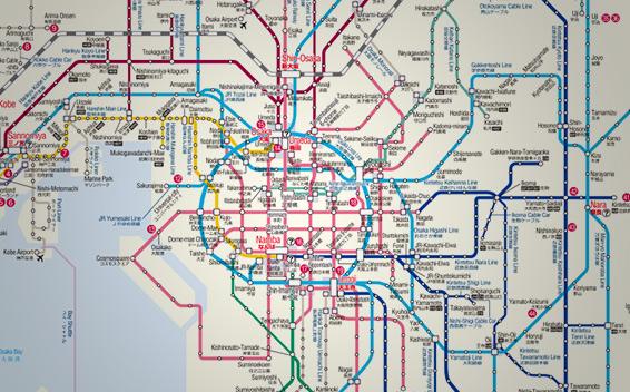 Tokyo Jr Subway Map.Japan Rail Pass Map Metro Maps Jrailpass